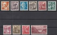 DD8057/ GERMANY – FRENCH RHEINLAND PFALZ – MI # 32 / 41 COMPLETE MINT MNH