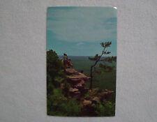 Vintage Old Card Arkansas Parkway Highway 7 Epic View Panoramic Scene Postcard