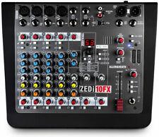 Allen & Heath ZEDi-10FX Hybrid Compatto Mixer / 4×4 Interfaccia USB con Fx, New