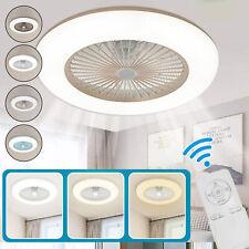 36W Deckenventilator mit Beleuchtung LED APP Fernbedienung Schlafzimmer Modern