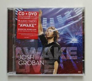 Josh Groban - Awake Live CD + DVD 2008 NEW & SEALED 2 discs