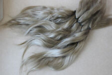 "Mohair Doll Hair col light blond  8-11"" in 0.35 oz locks angora DIY baby reborn"