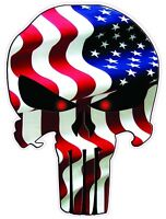 """American Punisher American Flag Decal Large 12"""""""