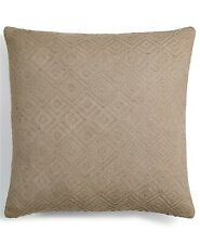 """Hotel Collection 18"""" Square Decorative Pillow Brown T93087"""