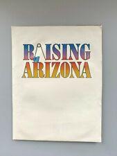 Raising Arizona Movie Press Kit 1987 Nicholas Cage Holly Hunter John Goodman