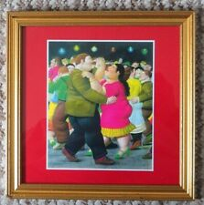 FERNANDO BOTERO  BEAUTIFUL  FRAMED CARD PRINT ENTITLED  THE DANCERS  FROM 1984