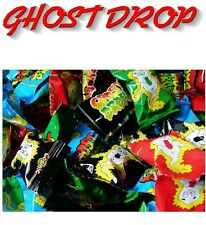 Bulk Lollies 100 x Ghost Drops Confectionery Party Favours Sweets Wrapped Candy