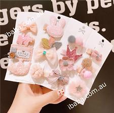 Girls Hair Clips handmade designer hairbands kids cute baby shower gift xmas