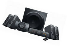 Logitech Wired Home Speakers and Subwoofers Powered/Active