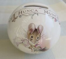 BEATRICE POTTER PORCELAIN MONEY BOX