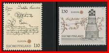 Finland 1979 EUROPA CEPT SC#621-22 MNH MAPS, LIGHTHOUSE