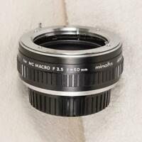 Minolta Converter for MC Macro 50mm f3.5 1:2-1:1 Extension Tube Vintage mjb