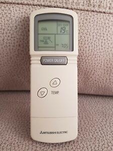 MANDO ORIGINAL MITSUBISHI ELECTRIC, T7W570200 ,Usado,Aire Acondicionado