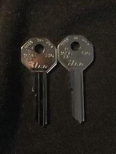 GM Key Blank (2) 1935-1966  Ilco H1098LA Curtis B10