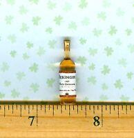 Dollhouse Miniature Size BLACK LABEL Whiskey Bottle # J W