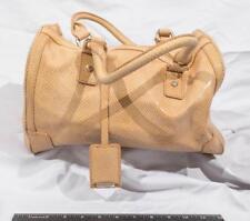 Calvin Klein Satchel Handbag Purse Monogram CK tthc