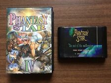 """Phantasy Star IV"" Sega Mega Drive/Genesis Game Used"