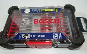 Bosch 20 Piece Impact Tough Drill Driver Custom Case System Set DDMS20
