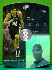 Tim Duncan rookie card 1997-98 Upper Deck SPx #37