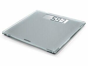 New Soehnle Style Sense Comfort 400 Silver Bathroom Scales 180kg XXL Surface