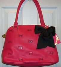 NWT BETSEY JOHNSON DOME  *LITTLE BOW CHIC PINK*  FUSCHIA   SO SO CUTE!!