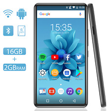 AGPTEK MP4 Player Android 6.1 Bluetooth 4.2, Large Touch Screen 6 Inches HiFi