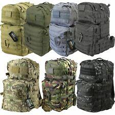 Kombat UK Medium Tactical Army Assault Military Molle Back Pack Rucksack 40L