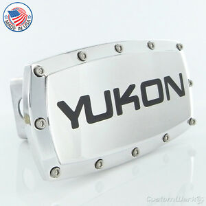 GMC Yukon Chrome Billet W/ Allen Bolts Tow Hitch Cover