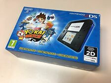 New Nintendo 2DS Blue/Black with preloaded Yo-Kai Yokai Watch *European Version