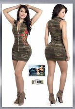 Colombian Denim Camo Dress -New Collection Sizes: 1/2,3/4,5/6,7/8,9/10,11/12