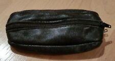 Schönes schwarzes Schlüsseletui mit Kleingeldtasche