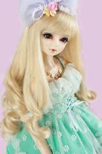 """New BJD Doll Wig Dollfie 5"""" 1/8 SD DZ DOD LUTS Bjd Doll Wig 1-21 Colors MBS001"""