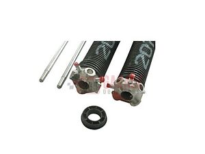 """One  1 3/4"""" .225 Garage Door Torsion Spring Any Length up to 31"""" W/ Winding Bars"""