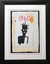 "Jean Michel Basquiat ""Impression- Sunrise"" CUSTOM FRAMED Pop Art 1960 Urban"