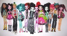 HUGE Lot 12 MONSTER HIGH DOLLS Boy Deuce Gorgon Clawd Wolf (1st Wave) Cleo Honey