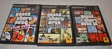 Lot Of (3) Playstation 2- Grand Theft Auto