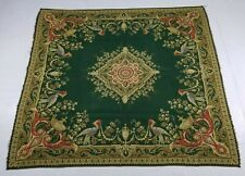 Antique French Beautiful Brocade Wall Hanging Tapestry/Table Mat 156X145cm