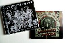 HARDCORE PUNK CD fiver deal COPYRIGHT CHAOS DEAFNESS BY NOISE