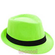 Hut kappe Fedora (Filzhut) ska stoff UNISEX feier zweifarbig neu HUT145