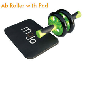 NEW MoJo Ab Roller Wheel Core Ab Workout Exercise with Knee Pad Commercial