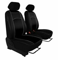 ECO LEATHER VAN UNIVERSAL SEAT COVERS for VAUXHALL COMBO 1 + 1
