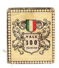 CALCIO Figurina Stadio ed .BEA 1948-49  jolly  nazionale vale 100 pro  patria