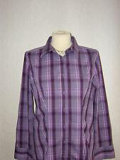 Street One Damen Bluse Gr.40 mehrfarbig lila-flieder
