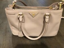 PRADA Bag BN1874 Saffiano Leather Lux Cammeo Blush Pink 082160