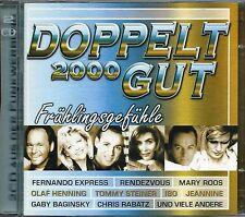 DOPPELT GUT 2000 - Frühlingsgefühle (2000) - 2 CDs - Stefan Raab, Die Paldauer,