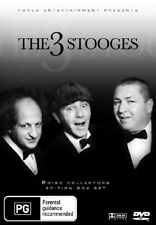 The Three Stooges (DVD, 2006, 6-Disc Set)Vol 1 COLLECTORS EDITION)-REGION 4