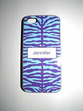 "PERSONALIZED NAME COVER FOR IPHONE 5/5S WITH 2 LAYERS PROTECTION ""JENNIFER"" NEW"