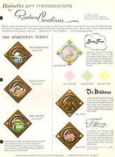 Vintage ad Blatt #2087 - Rodam Creations unverwechselbare Geschenk Thermometer