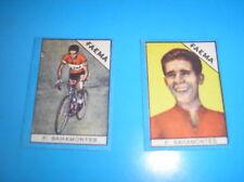 BAHAMONTES FAEMA CYCLISME IMAGE FIGURINA BUSTE ACTION 1960 NANNINA ITALIE