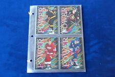 1994-95 FLAIR INSERT  10 CARDS SET POWER IN PLASTIC PAGES
